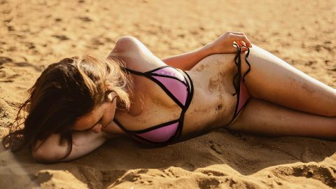 Long lasting spray tan